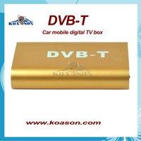 Free Shipping DVB-T digital tv reciver for car  dvd Standard: ISO/IEC 13818-2 MPEG-2