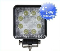More brighter!!24W LED work light, long life and high quality!