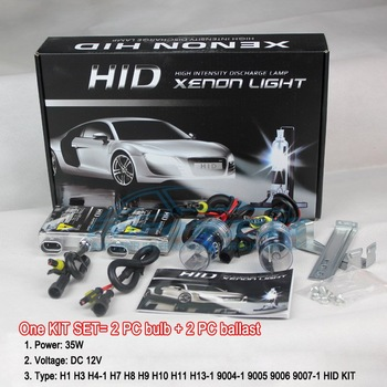 free shipping cheap price HID KIT single lamp 12v 35w 3000K 4300K 5000K 6000K 8000K 10000K12000 30000K high quailty