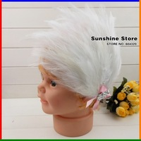 Sunshine store #2B2245  3 pcs/lot 2013 new fashion baby headband children white feather headband christmas headwear bowknot CPAM