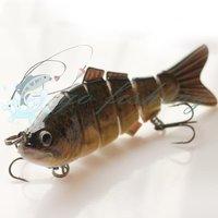 2014 best popular lure of fishing swim bait bass crank fishing lure fishing tackle