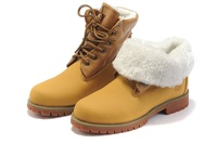 Free shipping Winter fashion high help warm  wool outdoor walking boots leisure head men's fur shoes
