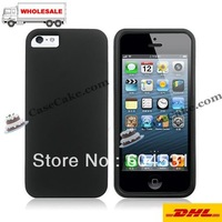 Fedex free shipping 100pcs/Lot Mix Color High quality Soft TPU Gel Cover Case for iphone5