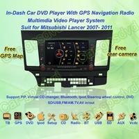 2007- 2011 Mitsubishi Lancer GPS Navigation DVD Player ,TV,Multimedia Video Player system+Free GPS map+Free shipping!!!