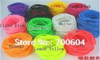 2014 Newest fashion trendy Elastic Punk candy color rubber bands bracelet  3mm diameter inner diameter 6.5cm/6.0cm wholesale