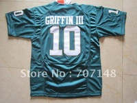 Youth Baylor  Robert Griffin III #10 Green College Football Jersey -Free Shipping