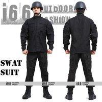 Free shipping SWAT Suit sets CQB BDU Military Combat Uniform CS Training Uniform Garment sets Shirt + Pants(AU-12018)