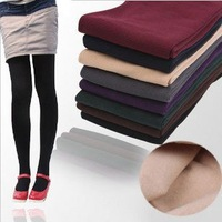 free shipiing,Thickening single tier bamboo Fiber brushed pantyhose socks