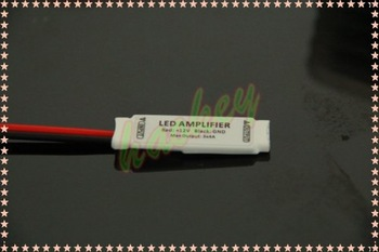 Newest Mini RGB Amplifier Cable for RGB Led Strip Easy Connect with RGB Led Strip! Free Shipping