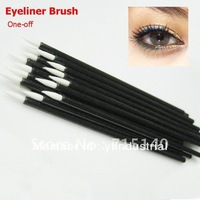 wholesale eyeliner Brush Liner Combination wand disposable 100pcs/lot Free Shipping