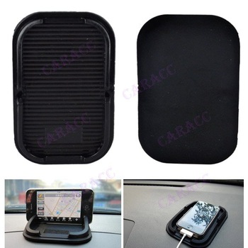 10Pcs/lot Multi-functional Rubber Mobile Phone Shelf car Anti Slip pad  antiskid mat For MP3/ Cell Phone Holder 6455