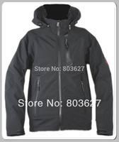 2014 New Brand  hot sale winter dressmen top outdoor soft shell coat jacket size S-XXL NO:908 Black Coats