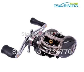 Trulinoya DW1000 Right Hand Baitcasting Fishing Reel  10+1BB  Black Color