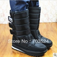 Winter boots snow boots knee-high thermal slip-resistant women's/men's snow shoes boots shoes