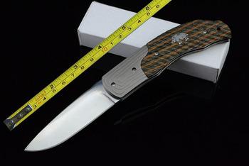 New 7'' Micarta Handle Pocket Folding Knife F60