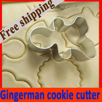 Gingerman Metal Cookie Cutter Stamp Mold Mould for Cake Biscuit Cookie Chocolate New