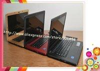 """Hot Selling 14.1"""" Netbook Laptop Windows 7/ XP Intel D525/ D2500 + Dual Core + DVD In-built + wifi + Russian Keyboard + Webcam"""