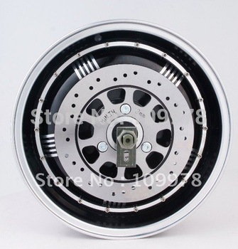 6000W 13inch Brushless Hub Motor for electric scooter,Electric Motor