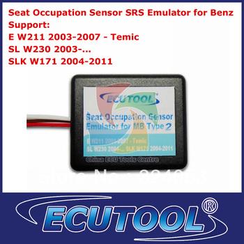 Wholesale 2pcs /lot Seat Occupancy Occupation SRS Sensor Emulator for Mercedes Benz W211 W230 W171 Type 2