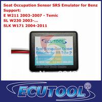 Wholesale 2pcs /lot Seat Occupancy Occupation SRS Sensor Emulator for Mercedes Benz W211 W230 W171 Type 2 Free Shipping