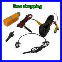Free China Post Air Mail Mini Pro 180 Degree Fish Eye Wide Angle Rear Mirror Side View Camera