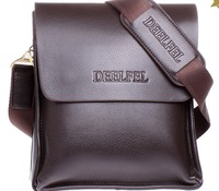 Hot Leather Genuine Men's Bag Cowhide Handbag Shoulder Bag Business Briefcase Whosales XMS047 Drop/Free Shipping