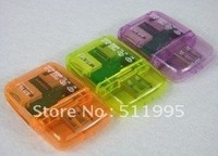Free Shipping USB 4 in 1 USB Card Reader