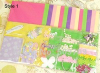 3 Set DIY Greeting Card, Children Handwork Creative Birthday Card, Funny Holiday Card Free Shipping