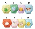 Free shipping 24pcs 8 designs/waterproof cotton potty training pants/4 layers diaper pants/Baby underwear