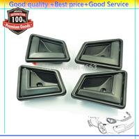 Free shipping Gray Inner Interior Door Handle Black 4 PCS For Suzuki Sidekick (DHSUBK101LRX2) Retail/Wholesale