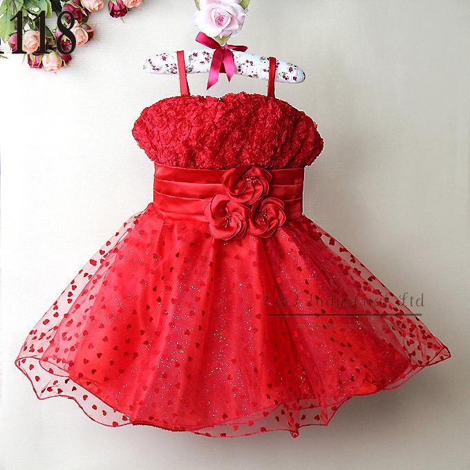 Black sequin kids dress fashion dress baby children dress