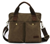 2014 leisure vintage canvnas men handbags messenger shoulder bag for man,  wholesale, FJ10