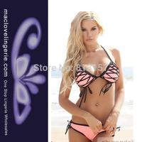 Free Shipping!! ML37023 High Quality Push Up Bikini Swimwear 2014 New Fashion Swimsuits For Women Swimming Bikini Wear