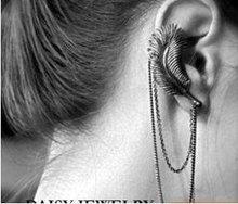 Wholesale 12pcs/Lot Antique Punk Leaf Earring C10R2C(China (Mainland))