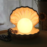 Magic Pearl Table Lamp Shell Lamp Bedroom Lamp Bed-lighting Dimmable Lamp