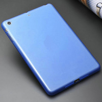 TPU Transparent back cover  for ipad mini superfine soft and strong enough case with free touch pen as gift