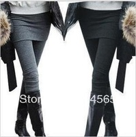 KZ-008 One Piece Women's Skirt Leggings Fashion Skirt With Pants Skinny Pencil Pants Casual Wear 3 Colors