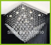 WHOLESALE EXPORT QUALITY  FREE LED BULB 110-240V ROOF DESIGN K9 CRYSTAL CHANDELIER D650 H700mm RESTAURANT PARLOR HOTEL VILLA