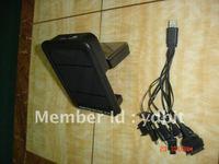 1.8 Watt portable universal AAA/AA  battery  solar charger