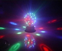 Free shipping new arrived magic ball RGB mini led stage light with voice control for home party EH-02
