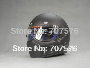 Retail + Low Freight Full Helmets StarWars motorcycle helmet SIMPSON glass fiber reinforced plastic pig ATV-I  dumb black