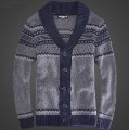 Men's Knitwear Cardigan, Vintage Shawl collared Sweater, Cardigan Men winter M, L, XL, XXL
