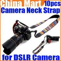 Vintage Hippie Letter Sling Camera Shoulder Strap Neck Belt for Digital DSLR SLR Camera 10pcs/lot Free Shipping+Drop Shipping