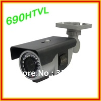 Promotion 1/3 Pixim 690 HTVL Waterproof  IR Camera Super Wide Dynamic Range 120DB OSD Menu