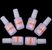 6 PCS French False Acrylic UV Gel Nail Art MXBON Nail Glue