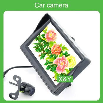 Car monitor monitor lcd 4.3   ccd hd car rear view camera car reversing system XY-2005