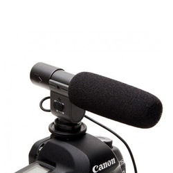 Shotgun Stereo Microphone for Canon 60D 7D Nokin D5100 DSLR DV Camera(China (Mainland))