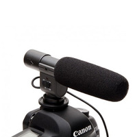Shotgun Stereo Microphone for Canon 60D 7D Nokin D5100 DSLR DV Camera