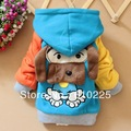 Free Shipping, Retail Cartoon Dog Pattern Kids Winter Coat/Children&#39;s Winter Wear