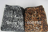 Free shipping Autumn and winter Leggings Female large size Thicken Leopard thickening plus velvet warm pants women pants